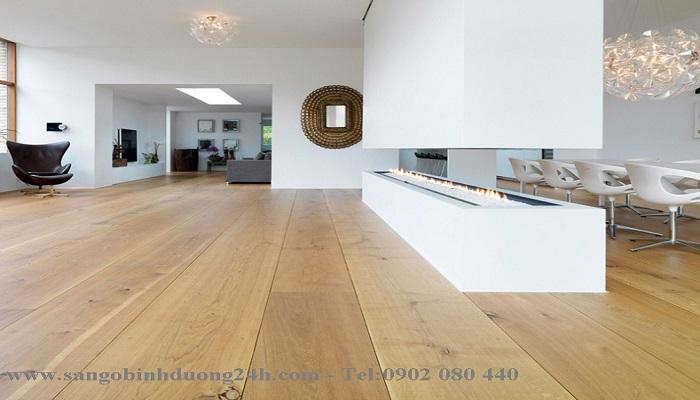 Lựa chọn sàn gỗ cho phòng bếp