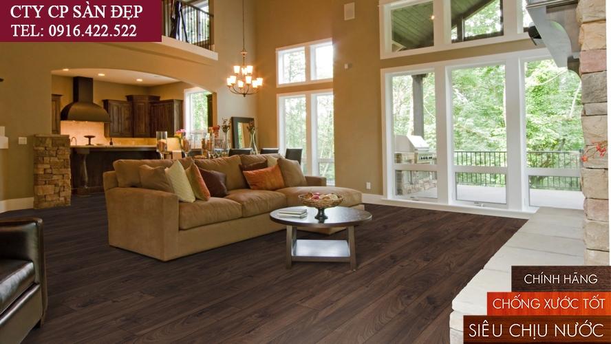 Sàn gỗ công nghiệp số 1 thế giới - Kronoswiss