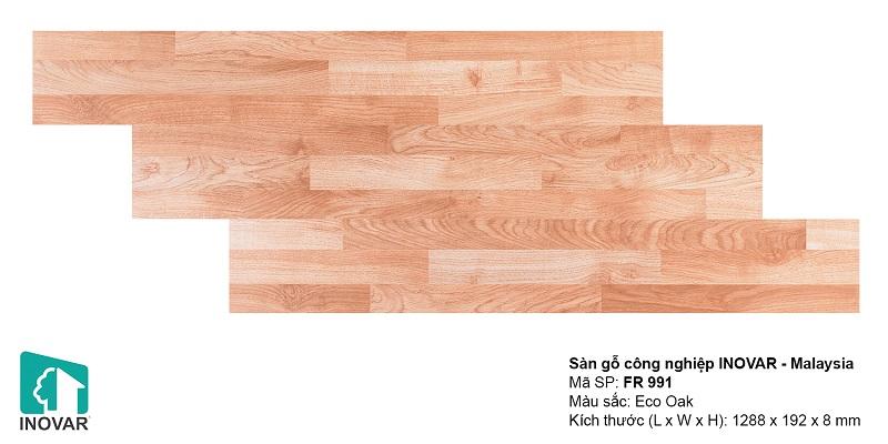 Sàn gỗ Inovar 8mm FR
