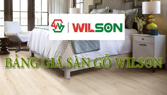 Sàn gỗ Wilson- sàn gỗ giá rẻ